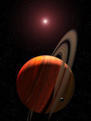 Astrónomos españoles hallan un planeta gigante mediante un nuevo sistema