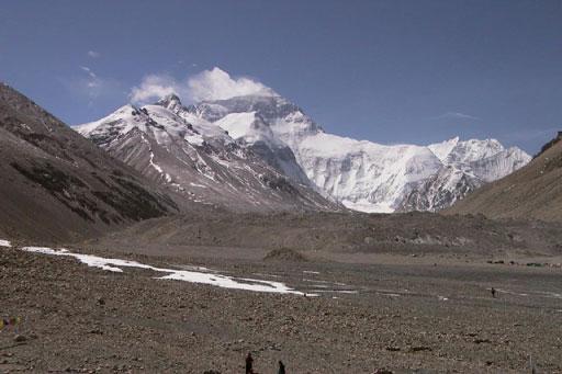 El impacto del calentamiento global empieza a fundir los glaciares del Everest